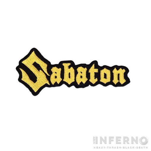 SABATON - Logo Szövött felvarró
