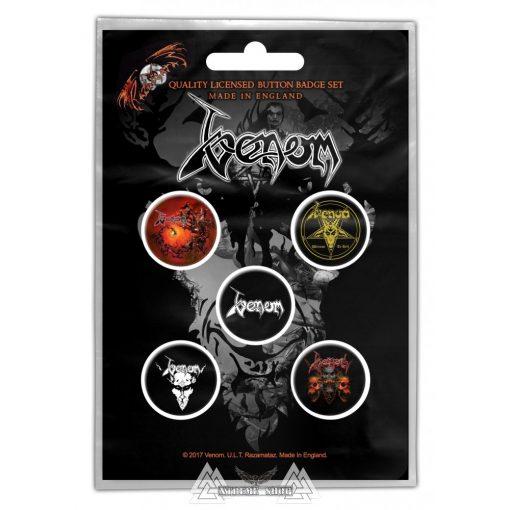 Venom - Black Metal Kitűző szett