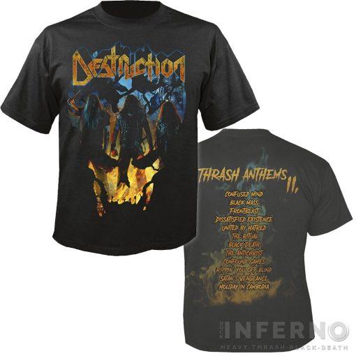 Destruction - Thrash anthems II póló