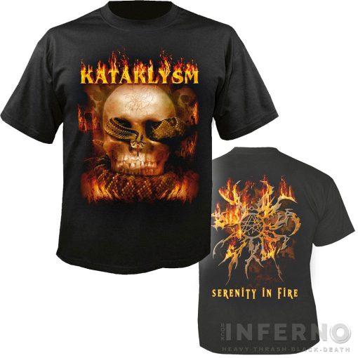 Kataklysm - Serenity in fire póló