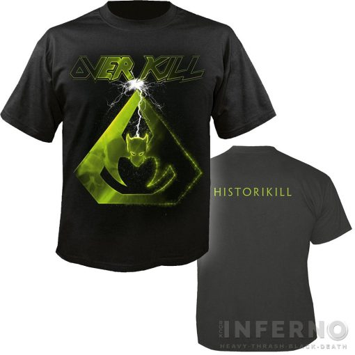 Overkill - HistoriKill póló