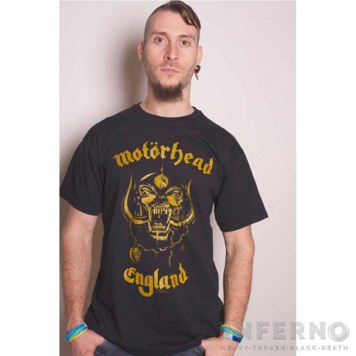 Motorhead - England Classic Gold Póló