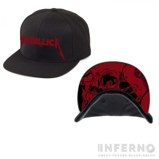 METALLICA - RED DAMAGE INC. SNAPBACK