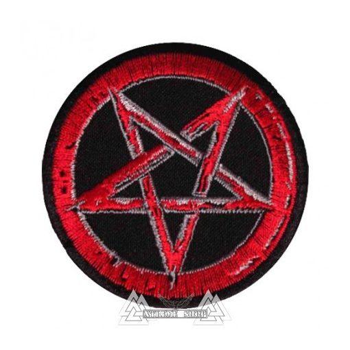 Pentagram Szövött felvarró