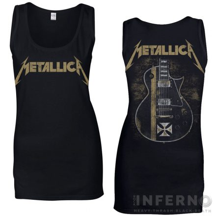Metallica - Hetfield Iron Cross női trikó