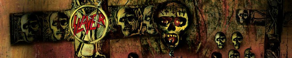 Slayer zenekaros polo merchandise t shirt